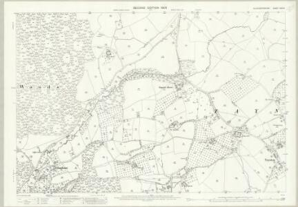 Gloucestershire XXIV.6 (includes: Newent; Taynton) - 25 Inch Map