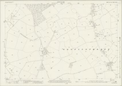 Essex (New Series 1913-) n XVI.3 (includes: Castle Hedingham; Gestingthorpe) - 25 Inch Map