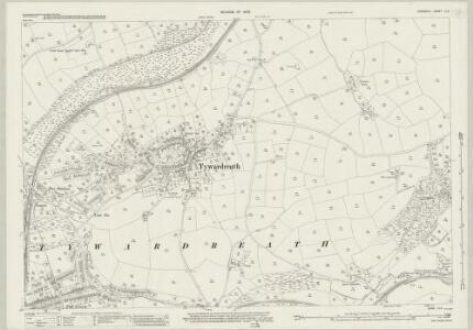 Cornwall LI.3 (includes: Fowey; St Sampson; Tywardreath) - 25 Inch Map