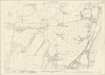 Hampshire and Isle of Wight XCIX.1 (includes: Newchurch; Sandown Shanklin) - 25 Inch Map