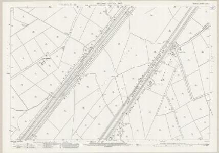 Norfolk LXXX.3 (includes: Denver; Fordham; Hilgay; Nordelph; Welney) - 25 Inch Map