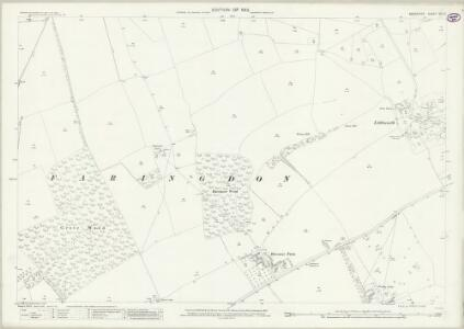 Berkshire VIII.6 (includes: Great Faringdon) - 25 Inch Map