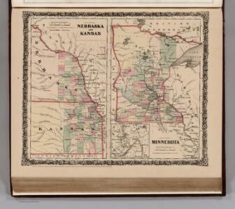 Nebraska and Kansas.  Minnesota.