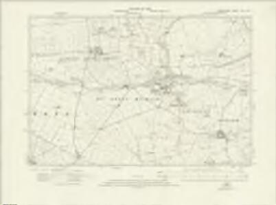 Derbyshire XVI.NW - OS Six-Inch Map