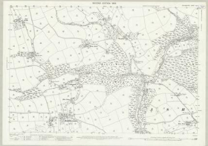 Devon XLII.1 (includes: Ashreigney; Burrington) - 25 Inch Map