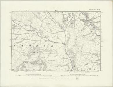 Radnorshire VIII.SE - OS Six-Inch Map