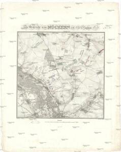Die Schlacht von Möckern am 16ten October 1813