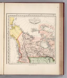 Facsimile:  Bouchette's British Dominions in North America (portion).