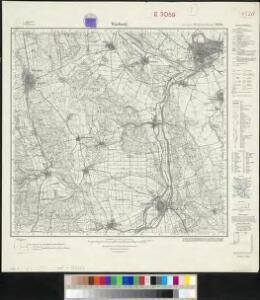 Messtischblatt 2588 : Warburg, 1933 Warburg
