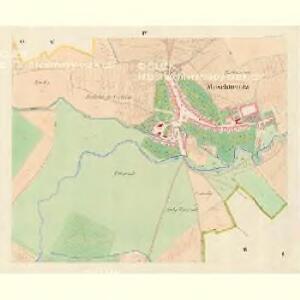 Moschtienitz - m0803-1-004 - Kaiserpflichtexemplar der Landkarten des stabilen Katasters