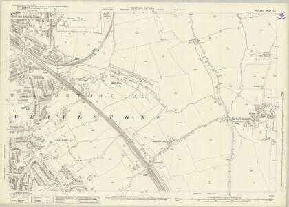 Middlesex X.8 (includes: Harrow; Wembley) - 25 Inch Map