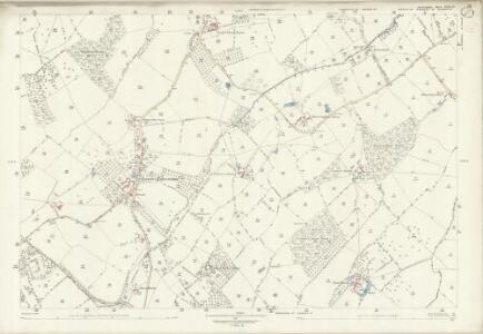 Herefordshire XVIII.10 (includes: Dilwyn; Pembridge; Weobley) - 25 Inch Map