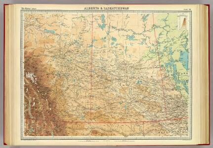 Alberta & Saskatchewan.