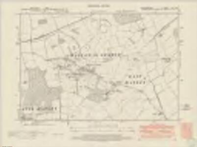 Bedfordshire XIV.SW - OS Six-Inch Map