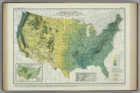 Spring Precipitation.  Atlas of American Agriculture.