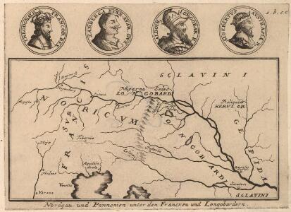 Nordgau und Pannonien unter den Francken und Longobardern