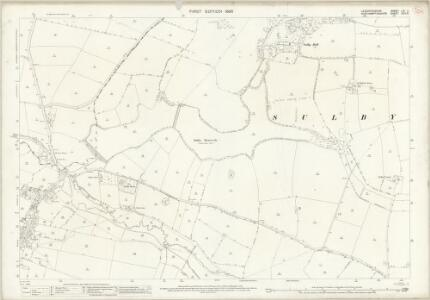 Leicestershire LIV.5 (includes: Husbands Bosworth; Sulby; Welford) - 25 Inch Map
