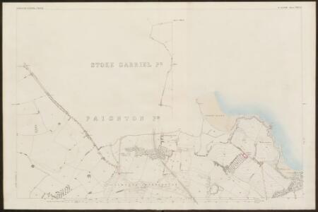 Devon CXXII.13 (inset CXXI.16) (includes: Churston Ferrers; Paignton; Stoke Gabriel) - 25 Inch Map
