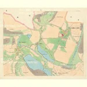 Komarzitz - c3302-1-002 - Kaiserpflichtexemplar der Landkarten des stabilen Katasters
