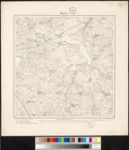 Meßtischblatt 659 : Warder, 1879