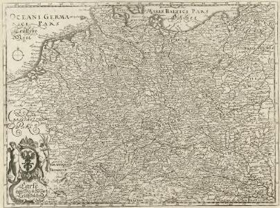 Carte von Ober u. Nieder Teutschland