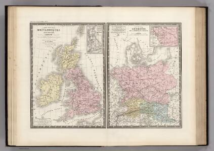Iles Britanniques et Germanie Anciennes.