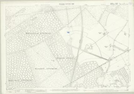 Surrey X.5 (includes: Windlesham; Winkfield) - 25 Inch Map