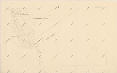 Katastrální mapa obce Novosedly WC-XIV-25 bd