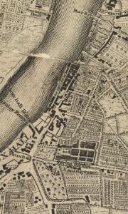 An exact Survey of the City's of London Westminster, ye Borough of Southwark and the country near ten miles round; begun in 1741 and ended in 1745, by J. Rocque; and engrav'd by R. Parr, 1746.