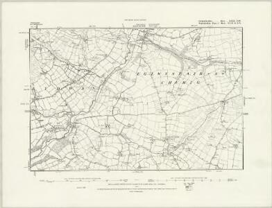 Carmarthenshire XXVIII.NE - OS Six-Inch Map
