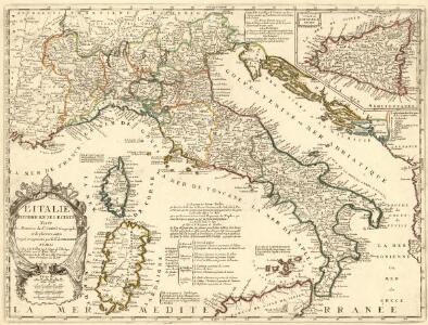 L'Italie Divisée en ses Estats