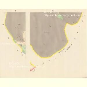 Tieschin (Tessin) - c7893-1-004 - Kaiserpflichtexemplar der Landkarten des stabilen Katasters