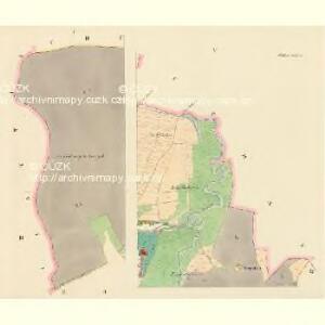 Dollan (Dolany) - c1236-1-001 - Kaiserpflichtexemplar der Landkarten des stabilen Katasters