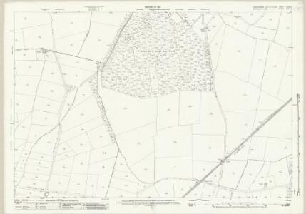 Lincolnshire LXXVII.6 (includes: Eagle and Swinethorpe; North Scarle; South Scarle; Swinderby) - 25 Inch Map