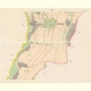 Prohrub (Proruby) - c6107-1-003 - Kaiserpflichtexemplar der Landkarten des stabilen Katasters