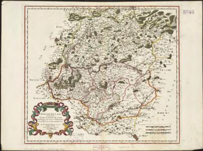 Evesché de Laon, ou sont les Duché, et Pairrie de Laon, Balliages de Laon, et Ribemont, Eslections de Laon, et de Guise etc.