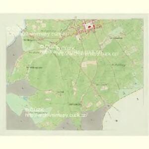 Stadt Platten - c2013-1-003 - Kaiserpflichtexemplar der Landkarten des stabilen Katasters