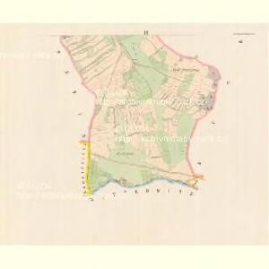 Zbislaw - c9201-1-001 - Kaiserpflichtexemplar der Landkarten des stabilen Katasters