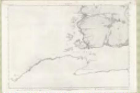 Ross and Cromarty Sheet CXXII - OS 6 Inch map