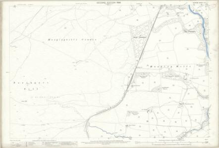 Durham XXIII.7 (includes: Stanhope) - 25 Inch Map