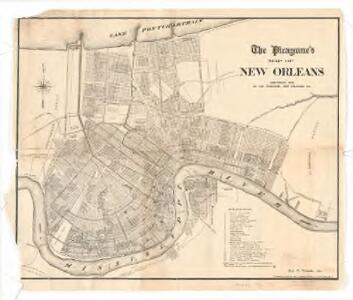 The Picayune's map of New Orleans