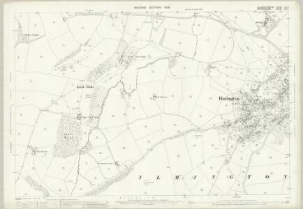 Gloucestershire VIII.2 (includes: Admington; Ilmington) - 25 Inch Map