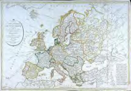 Carte générale de l'Europe