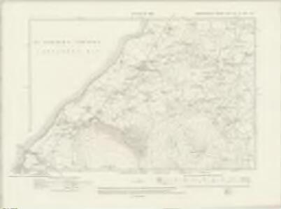 Caernarvonshire XXV.NE & XXVI.NW - OS Six-Inch Map