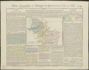 Tableau géographique et statistique du département de Loir-et-Cher