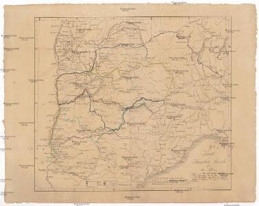 Karte zu Hannibals Marsche über die Alpen
