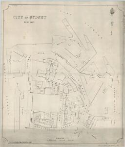 City of Sydney, Section 92, Sheet 1, 1893