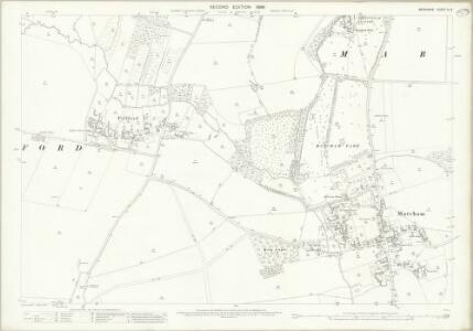 Berkshire IX.8 (includes: Frilford; Marcham; Tubney) - 25 Inch Map