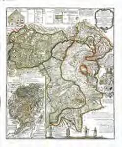 Topographische Tabelle des untern Amtes der Lucernischen Vogtei Entlibuch