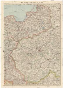 Der Kriegsschauplatz in Polen